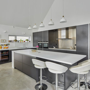 Photo of a contemporary kitchen in Wiltshire.