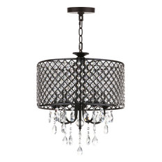 Axel Chandelier - Clear, Black