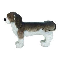 "Polystone Dog Bench, 35""x24"""