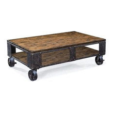 Beaumont Lane - Beaumont Lane Coffee Table, Natural Pine - Coffee Tables