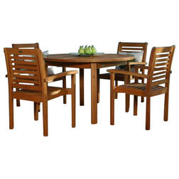Best Transitional Outdoor Dining Sets by International Home Miami Corp