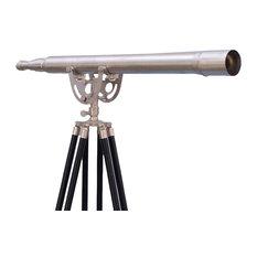 """Floor Standing Brushed Nickel Anchormaster Telescope, 65"""""""