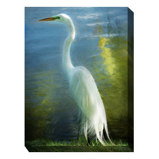 West of the Wind Outdoor Canvas Wall Art, Poised Patience