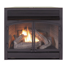 Duluth Forge Dual Fuel Ventless Fireplace Insert 32k BTU w/Remote FDF400RT-ZC