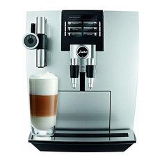 Jura 15075 Automatic Coffee Machine J90, Brilliant Silver