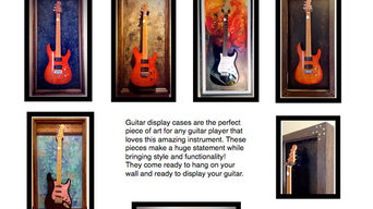 Guitar Display Cases / Shadow Boxes