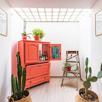 Espace bar / jardin d'hiver