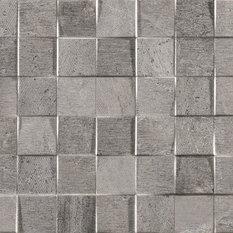 - Concrete Look Tiles - Mosaico Rodano Silver - Wall & Floor Tiles