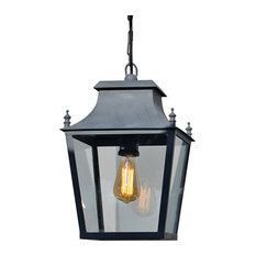 A Place In The Garden Blenheim Hanging Lantern Small Outdoor Lights