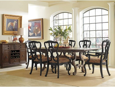 Stanley Furniture Rustica Dining Room Harvest Table - Traditional ...
