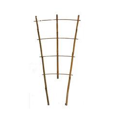 "Set of 5 Bamboo Ladder Trellis, 36"", 4 Tiers"
