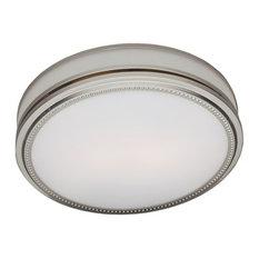 Bay - Alvy Bathroom Ventilation Fan and Light - Bathroom Exhaust Fans