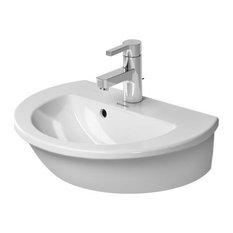 Duravit Darling New 18 1/2''x13 3/4'' Bathroom Sink, White