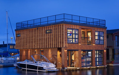Houzz Tour: Industrial Floating Home in Seattle