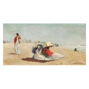 Print Winslow Homer American American East Hampton Beach Long Island
