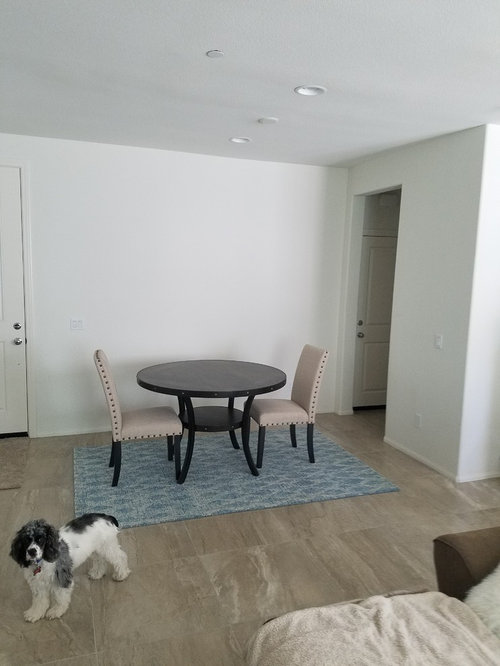 Rug Shape For Under Round Table