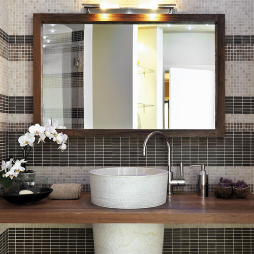 Custom Size Bathroom Mirrors - Custom framed bathroom mirrors