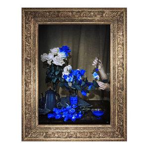 Scent of Cobalt Canvas, 66x81 cm