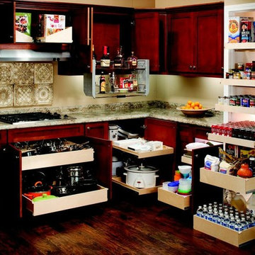 Pull Out Shelves for Your Whole Kitchen