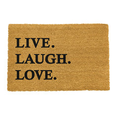 """Live. Laugh. Love."" Doormat"