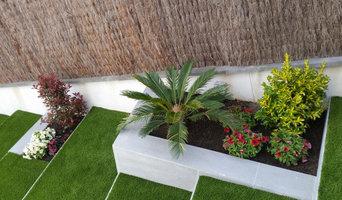 Construcción y reforma de jardín