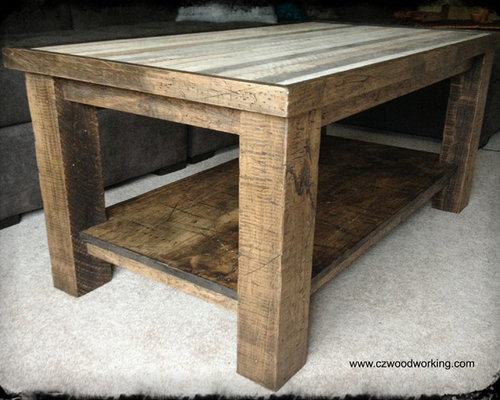 Rustic Maple Coffee Table
