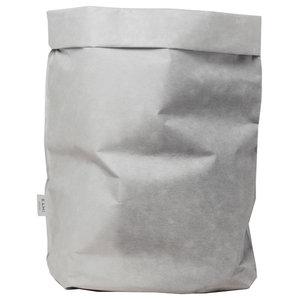 Grey Washable Paper Laundry Bag