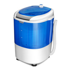 Costway 5.5lbs Portable Mini Compact Washing Machine Electric Spin Washer Dryer