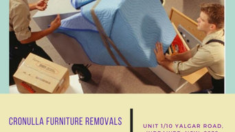 Cronulla Furniture Removals