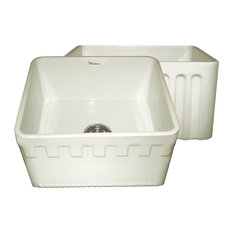 Farmhaus Fireclay Reversible Sink, Biscuit