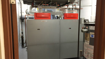 New Viessmann Boilers @ Fairfield Federal Savings & Loan
