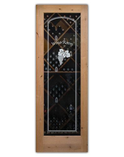 Wine Room Doors, Pd Wine Cellar Doors Decorative Frosted Glass   Interior  Doors