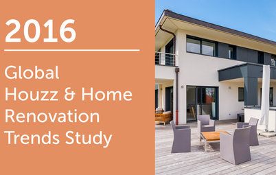 2016 Global Houzz & Home Study: Annual Renovation Trends