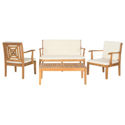 Best Transitional Outdoor Lounge Sets by Safavieh