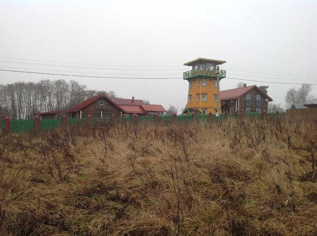 Классический Фасад дома by Бюро Акимова и Топорова