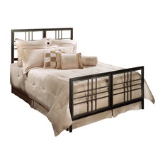 Tiburon Bed Set With Rails, King