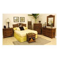 Wicker Rattan Bedroom Furniture | Houzz