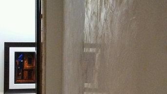 Interior Venetian plaster