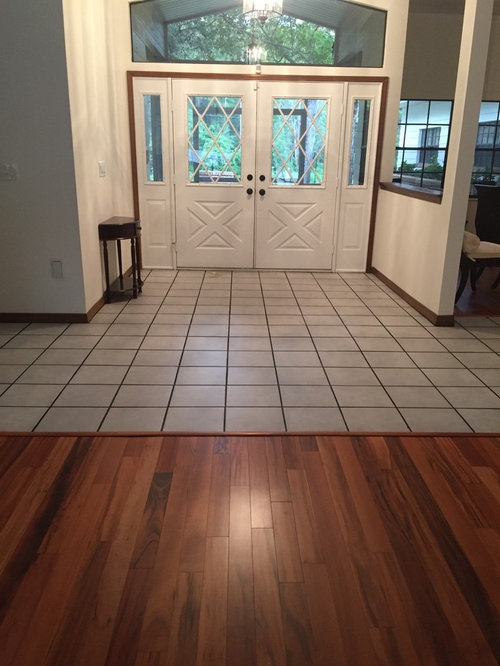 Flooring Tiles In Foyer Hall And Kitchen That Go With Wood Flooring