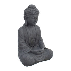 Sitting Buddha Garden Sculpture