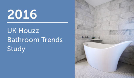 2016 UK Houzz Bathroom Trends Study