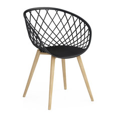 Kurv Chair, Set of 2, Black