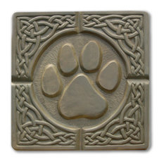 Pawprint Stepping Stone Mold
