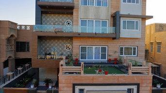 Triple StoryJodhpur Residence