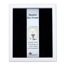 "White Wood Shadow Box Picture Frame, 11""x14"""