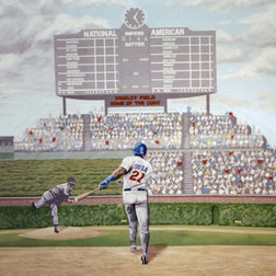 Epic Traditional Wall Decals Wrigley Field Wall Mural