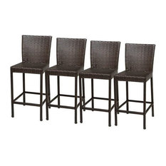 tk classics napa outdoor wicker bar stools espresso set of 4 source furniture side n