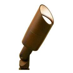 Up Light Bullet, Low Voltage Rust Landscape Light, Halogen
