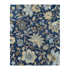 Kaleen Brooklyn Floral Rug, 8'x11'
