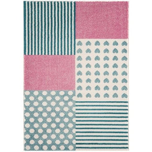 Play Hearts and Stripes Rug, 100x150 cm